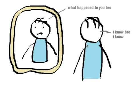 Adam and the Mirror
