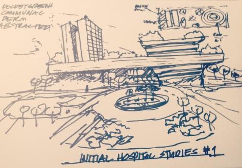 Quick hospital sketch